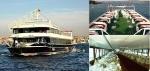 Bateau restaurant passagers réceptif de luxe 43 m 850 invité