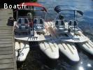 Bateaux électriques pour base nautique