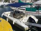 Cap Camarat 635 CC Style et remorque double essieu