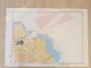Carte nav SHOM 7193 COTE EST D'ITALIE ABORDS DE BRINDISI
