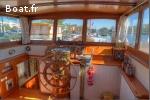 Péniche, fluvial, beau bateau appartement
