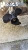 semi rigide bonbard 420 + moteur +remorque